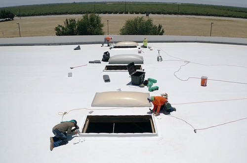 Commercial Roof Coating in Clovis, CA | Castone Roofing and Construction